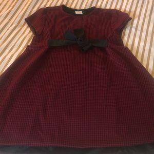 Zara Red black dress